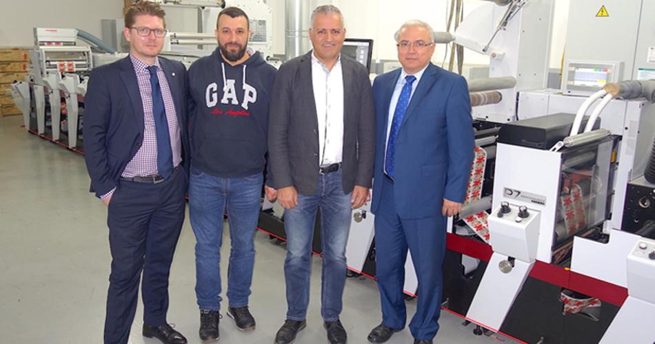 Eidco Labels Installs Fastest Narrow Web Press in Lebanon